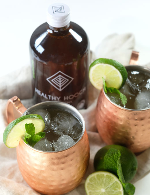 Pear Ginger Moscow Mule