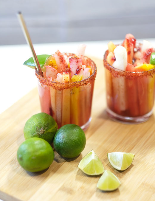 Mexican Style Fruit Cups