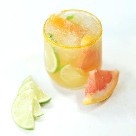 turmeric citrus mocktail