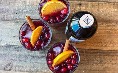 Mulled Wine Kombucha Cocktail